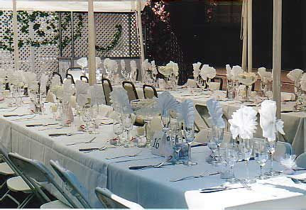 Share your buffet style tablescapes : wedding reception