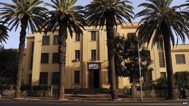 Eritrea's High Court in Asmara, July 2013