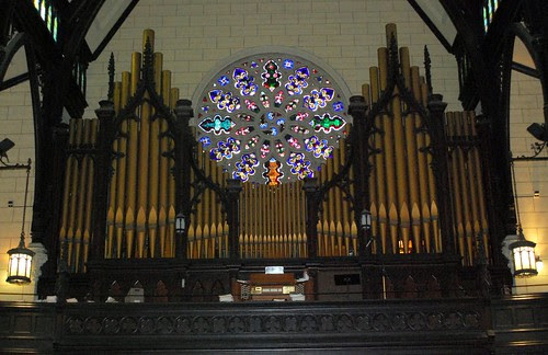 Pipe Organ at the Mount Vernon Place United Methodist Church