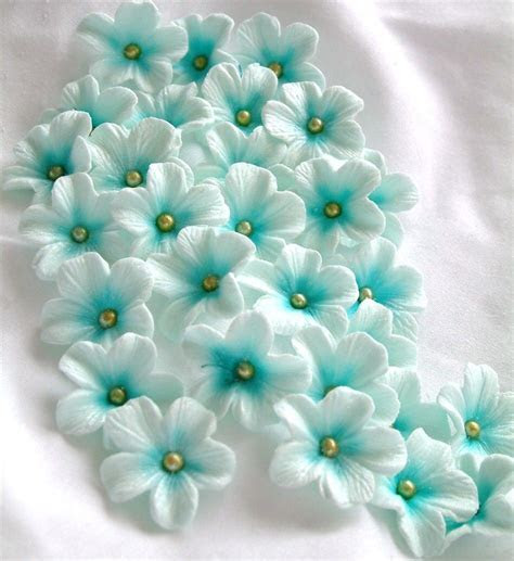 Gumpaste Cake Decorations Gum Paste Flowers 25 piece set