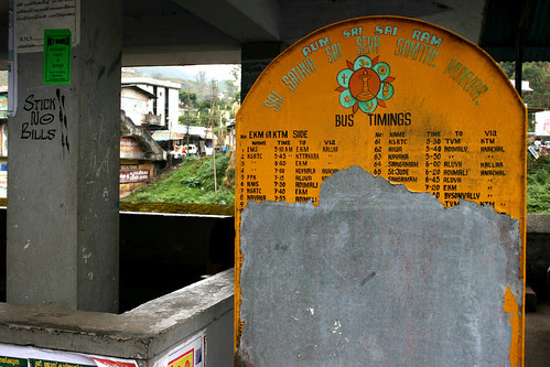 Bus timings