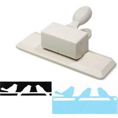 Martha Stewart Crafts - Edge Punch - Birds On A Wire