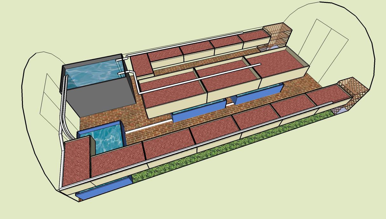 Greenhouse Aquaponics System Design
