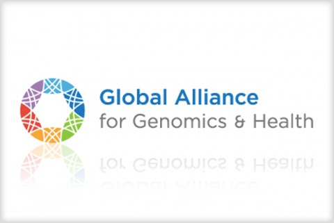 Global Alliance for Genomics and Health logo, EMBL-EBI website