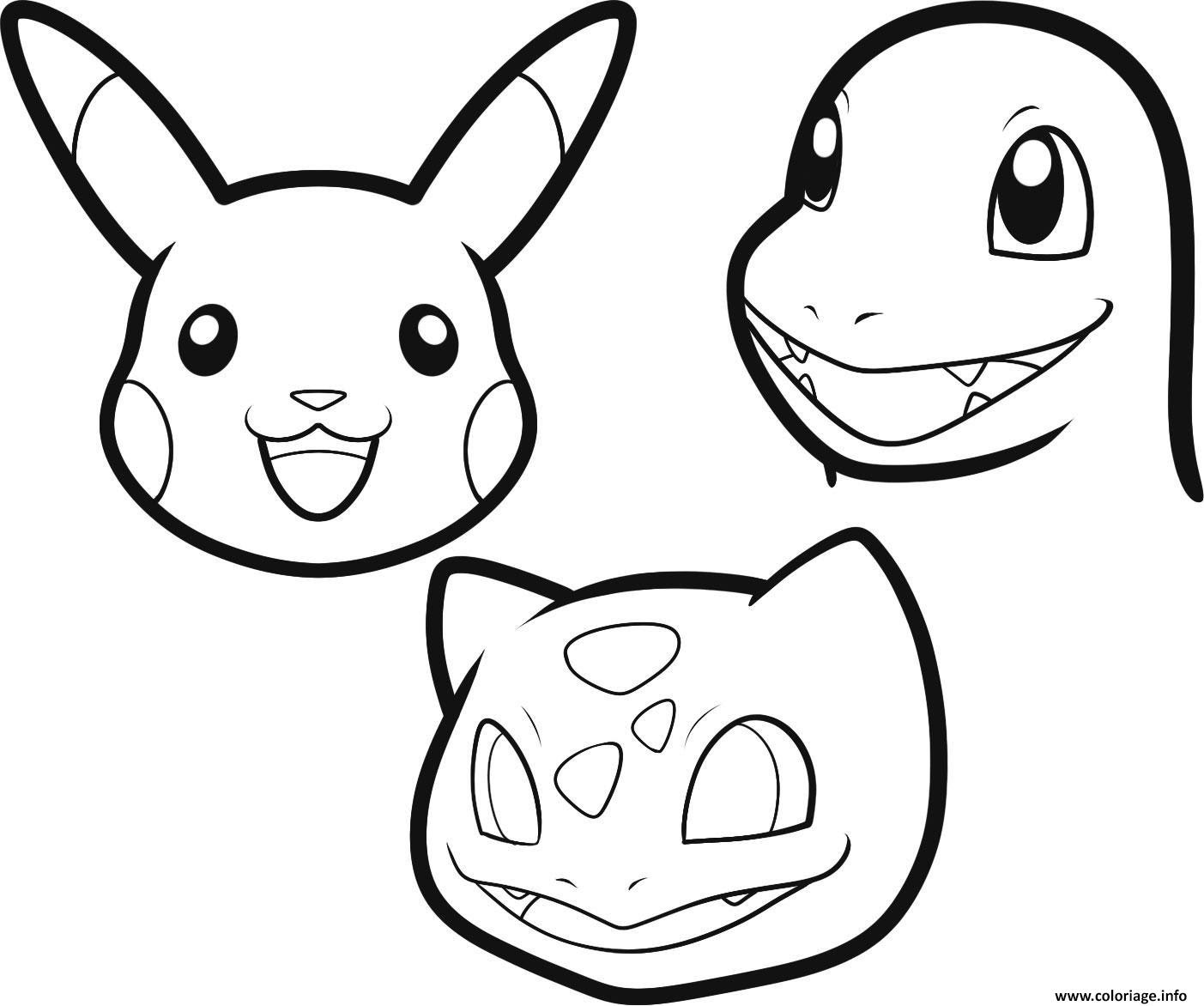 Coloriage Pokemon Facile 137 Dessin  Imprimer