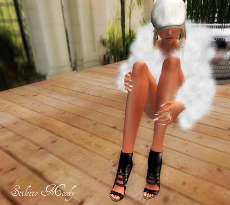 Stiletto Moody Bare Mae