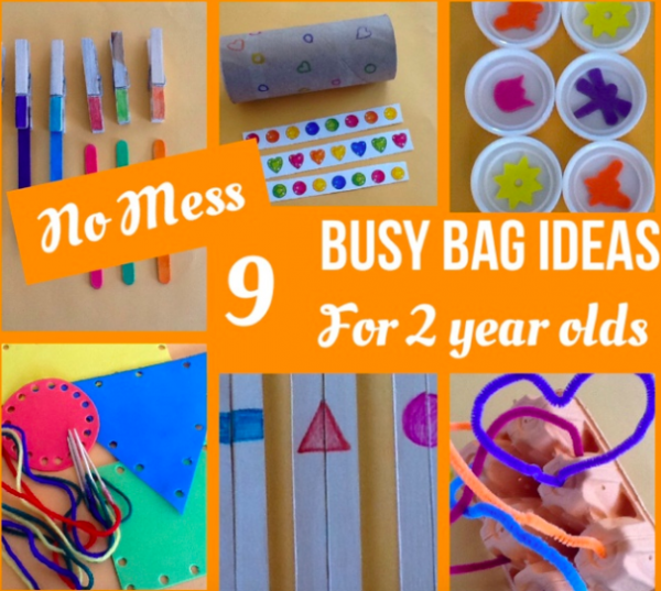 No Mess Busy Bag Ideas For 2 Year Olds Teach Me Mommy