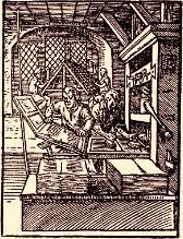 18th century printing press