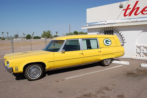 Green Bay Packers Hearse