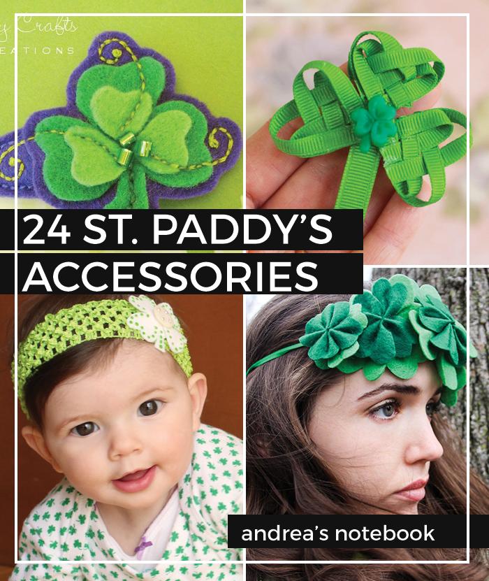 24 St Patricks Day Hair Accessory Tutorials