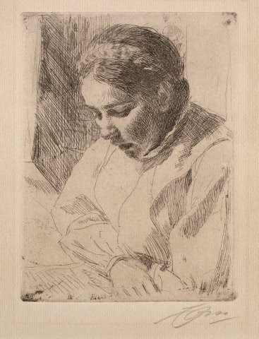 Anders_Zorn_-_The_Prayer_(etching)_1911