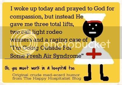 Nurse prayer compassion ecard humor