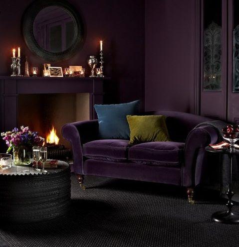 Image Result For Indigo Blue Living Room