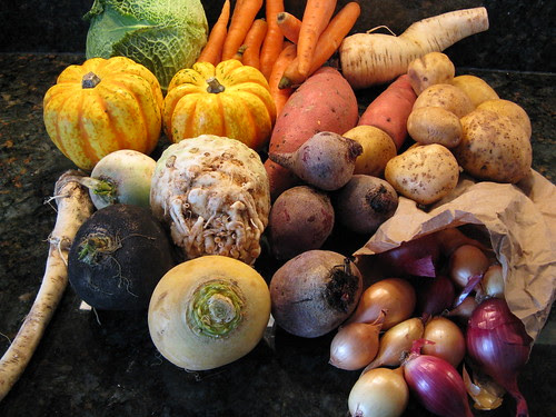 What's in CSA box #16