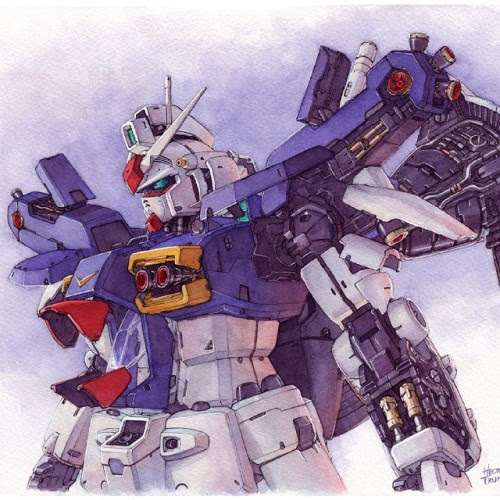 Gundam Watercolor