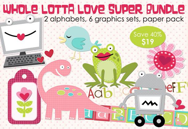 Whole Lotta Love Super Bundle