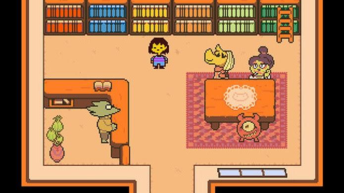 Undertale traz um RPG onde matar seus inimigos não é obrigatório (Foto: Reprodução/Steam)