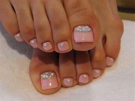 Wedding Toe Nails on Pinterest   Bridal Toe Nails, Wedding