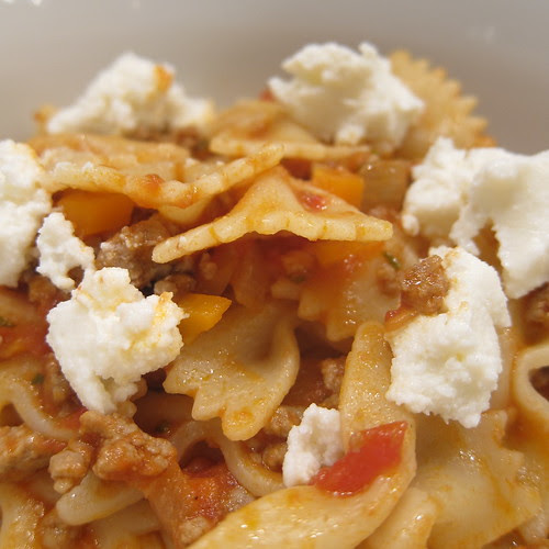 Farfalle with Lamb Ragu