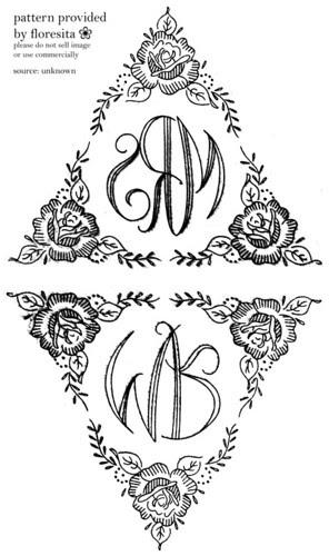 monogram patterns - unknown