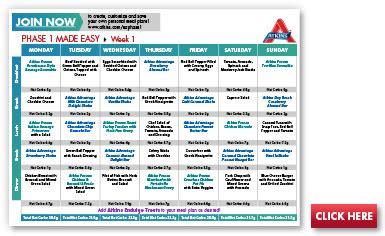 atkins  week phase  easy  carb meal plan   carb