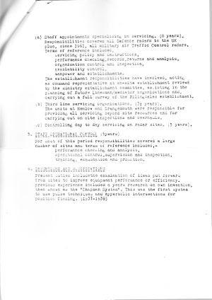 Leonard Chapman Resume Page 2