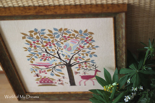 CHS. The Birds and the Bees. Framed