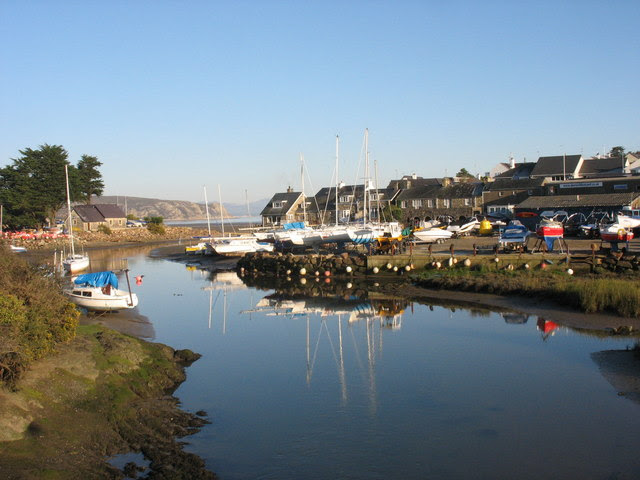 File:The harbour from Pont Abersoch - geograph.org.uk - 645773.jpg