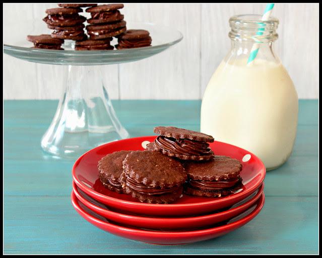 Chocolate Hazelnut Melting Moments