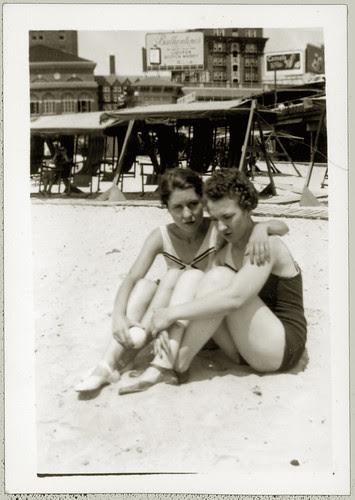 Pair at the beach
