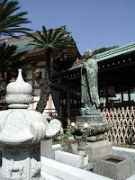 Statue of Zendo Daishi at Komyo-Ji, Kamakura