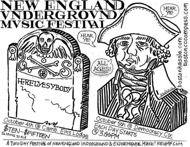 New England Underground Music Festival with Coke Weed, Pile, Keith Fullerton Whitman, Ovlov, Bobb Trimble, Dozens More | 4-5 Oct. | Cambridge Elks, Democracy Center