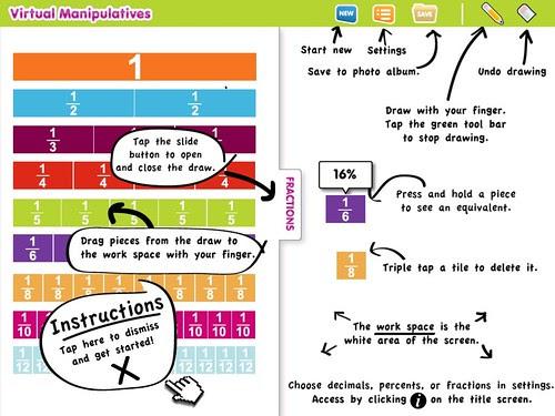 Fraction bar app