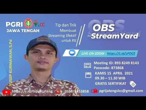 OBS dan Streamyard