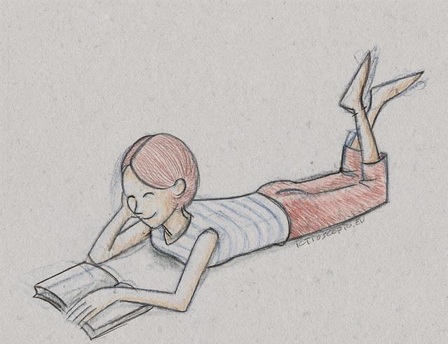 moça lendo