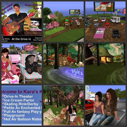 Grand Opening This Thursday, 3-15-12 at 8PM SLT, AE Sings Live, Come Early and Explore and Play -see next pic for more