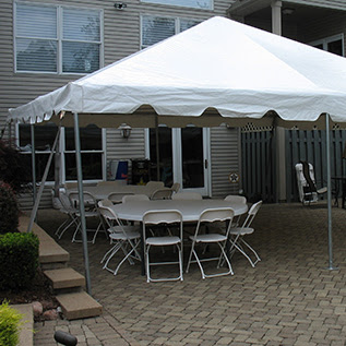 20 X 20 White Frame Tent A Z Rent All