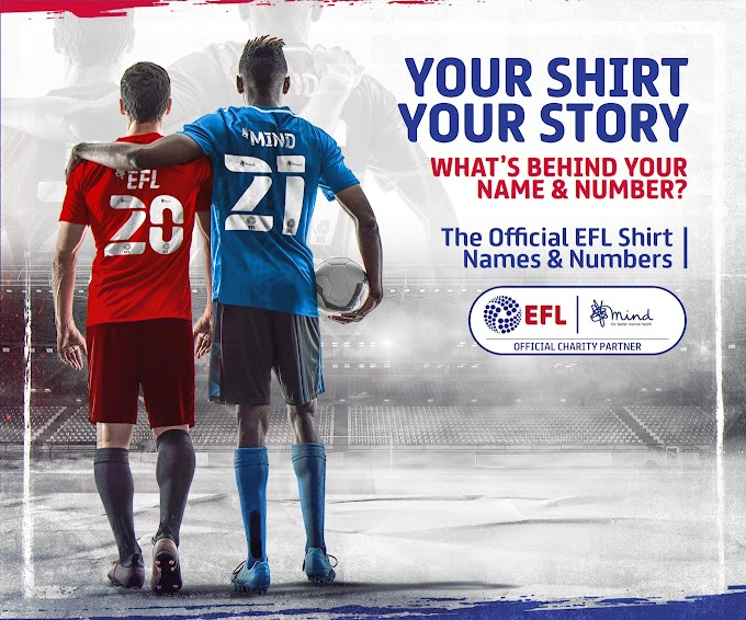EFL & Mind Reveal New Names & Numbers Design For 2020/21