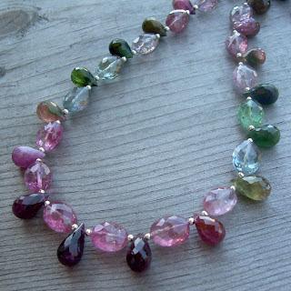 fancy tourmaline necklace