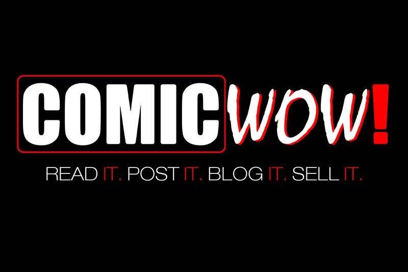 Comic Wow PR logo