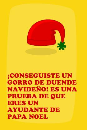 Gorro Navideño