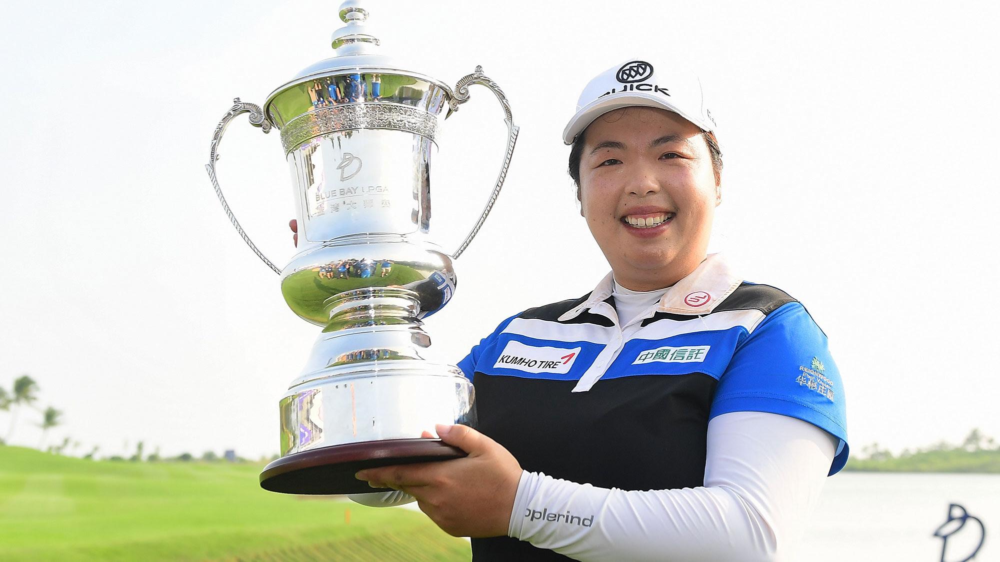 Defending champion Shanshan Feng