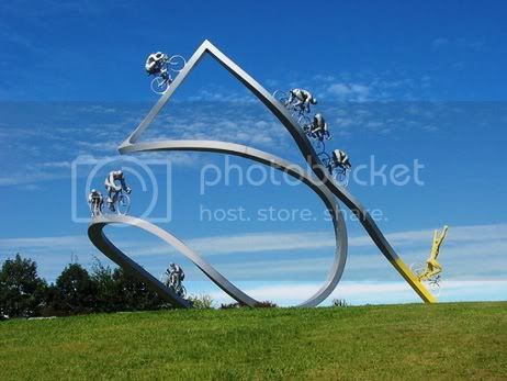 Weird Monuments,Weird Monuments,Monument of Le Tour de France