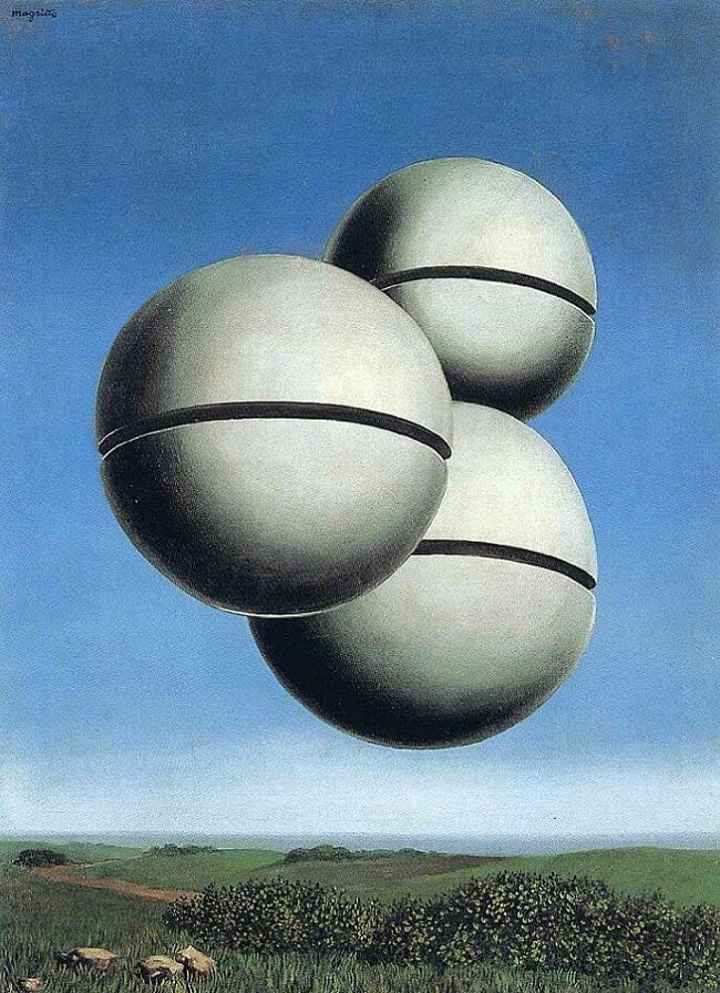 Rape, 1945 by Rene Magritte