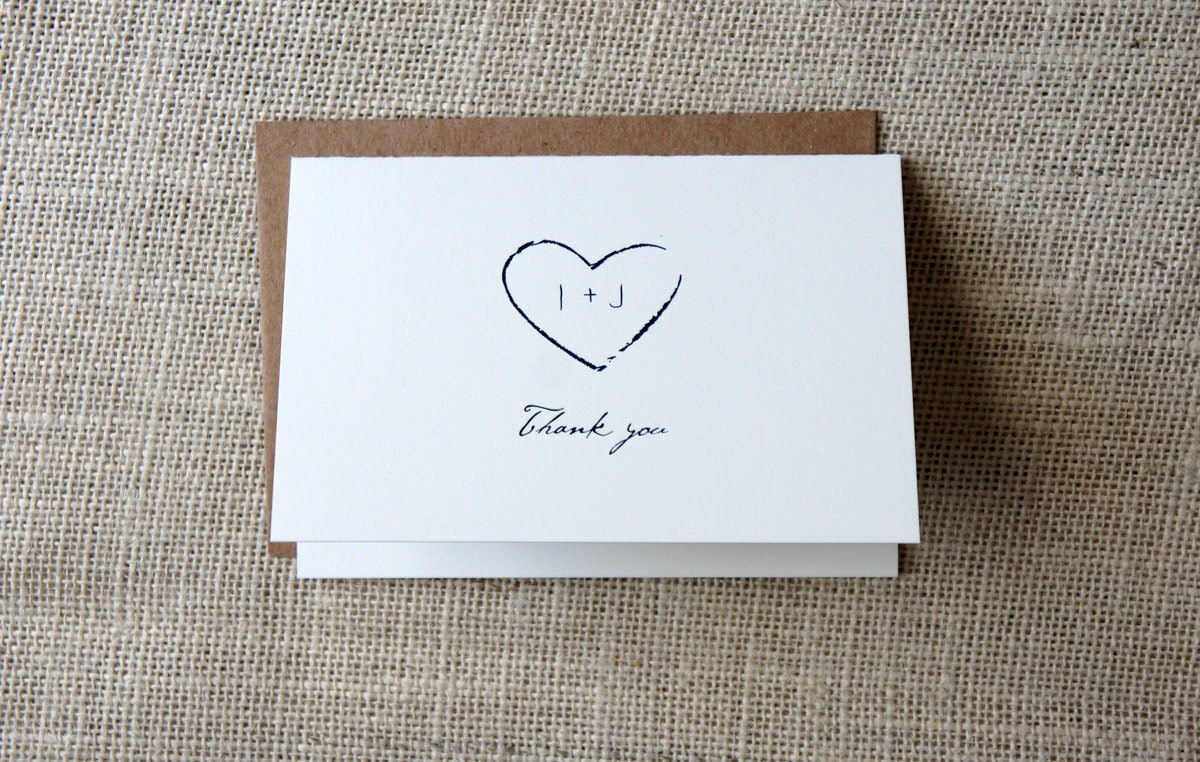Rustic Thank You Cards - DawnCorrespondence