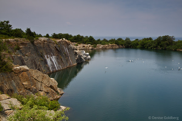 quarry, Halibut Point State Park