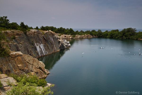 quarry, Halibut Point State Park