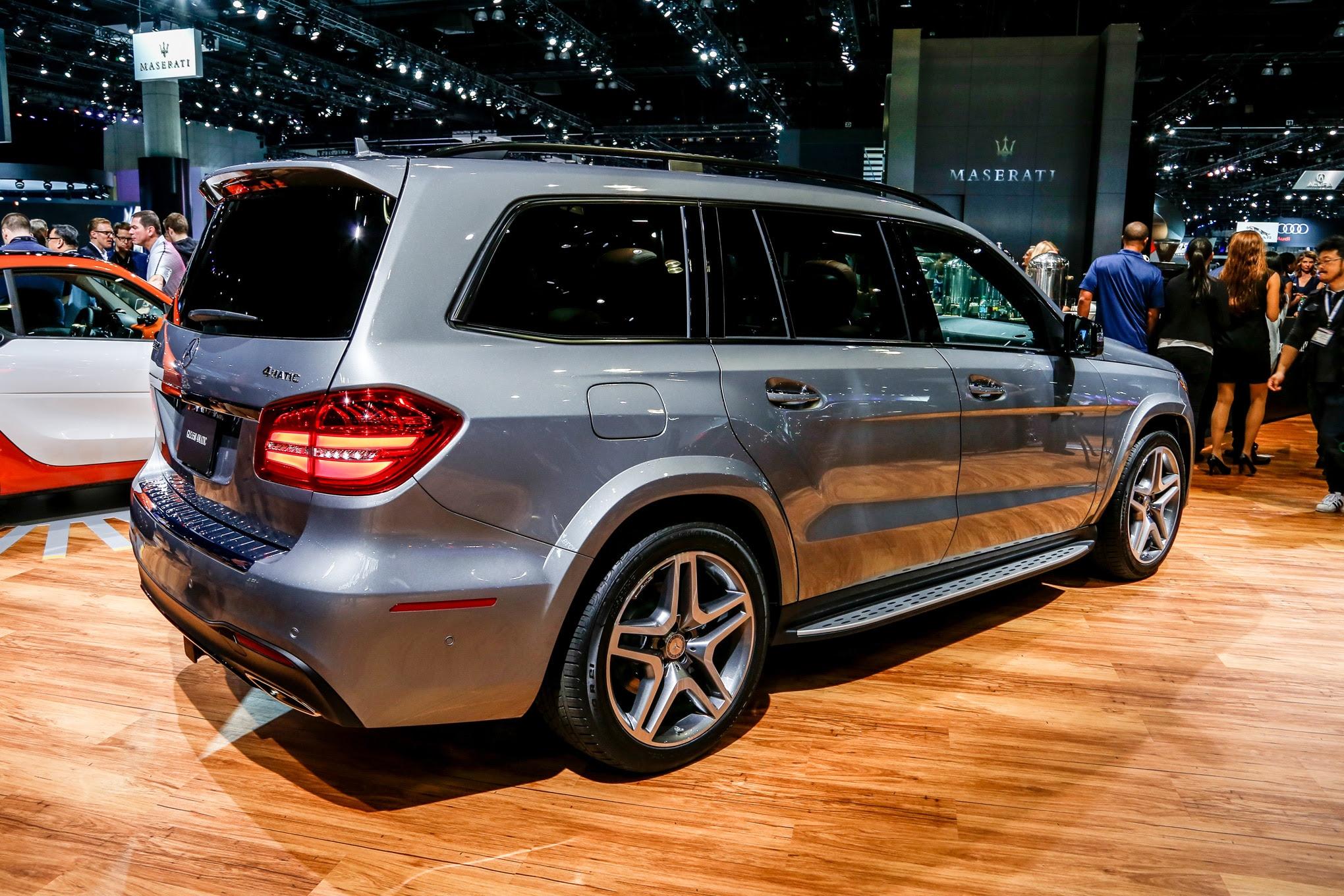 2017 Mercedes-Benz GLS Replaces GL, Adds Nine-Speed ...