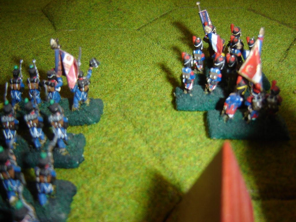 The Old Guard march forward
