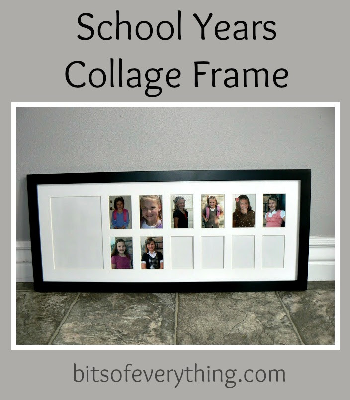 School Year Photo Frames Picture Frame Ideas